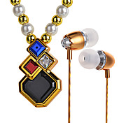 Bl100 Fashion Pendant Necklace Headset Stereo Bluetooth Headset Headset