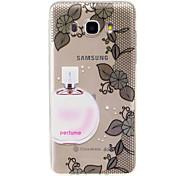 For Samsung Galaxy J7 2017 J5 2016  IMD Transparent Case Back Cover Case Flower Soft TPU for J5 2017 J3 2017 J710 J310 J3 J5 J1 2016 J1