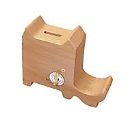 Music Box Cat Holiday Supplies Wood Unisex