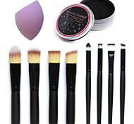 1 Powder Puff/Beauty Blender Makeup Brushes Brush Egg & Cleaners Dry Face Concealer Uneven Skin Tone Other China