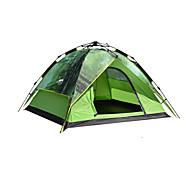 DesertFox® 3-4 человека Световой тент Двойная Палатка Автоматический тент Водонепроницаемость Дожденепроницаемый 2000-3000 мм для Походы