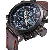 ASJ Men's Sport Watch Digital Watch JapaneseLCD Remote Control Calendar Chronograph Water Resistant / Water Proof Dual Time Zones