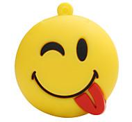 Горячий новый мультфильм озорной смайлик лицо usb2.0 8 гб флэш-накопитель и диск памяти