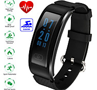 Women's Men's Waterproof Smartband  Bluetooth Smart Bracelet Heart Rate Monitor IP68 Sports Fitness Tracker for Android iOS