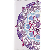 For Samsung Galaxy A3(2017) A5(2017) Case Cover The Dandelion Pattern PU Leather Cases for A5 A3