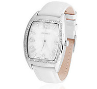 Women's Fashion Watch Quartz Water Resistant / Water Proof Leather Band Casual White Red Brown Gold Pink