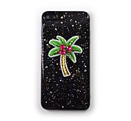 Para Apple iphone 7 mais 7 estojo de capa fluindo líquido padrão transparente capa traseira caso de silicone suave para iphone 6s mais 6