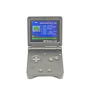 Gb estación luz niño sp pvp mano de mano del jugador del juego de mano 142 construido en los juegos de consola de vídeo portátil 3 '' lcd
