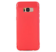 For Samsung Galaxy S8 S8 Plus Case Cover TPU Material Armor Soft Case Phone Case