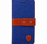 Для iphone 7 7 плюс чехол для карточек держатель кошелька с подставкой флип магнитный чехол всего тела сплошной цвет твердый текстиль для