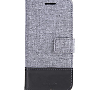 For LG G6/LG V20 Case Cover With Stand Flip Full Body Case Solid Color Hard Textile For LG G5