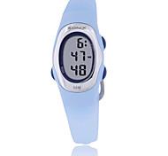 Women's Sport Watch Digital Water Resistant / Water Proof Rubber Band Blue Green Purple