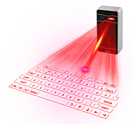 Laser Projection Virtual Keyboard for iPhone, smartphone, laptop or tablet