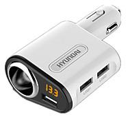 Быстрая зарядка Другое 3 USB порта Только зарядное устройство DC 5V/3.1A