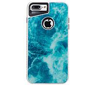 Для iphone 7plus 7 tpu plus pc мраморная модель двух-в-одном корпусе телефона 6s плюс 6plus 6s 6 se 5s 5