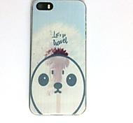 Для apple iphone se / 5s iphone 5 корпус чехол шаблон задняя крышка чехол снеговик soft tpu