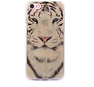 Per iphone 7 apple iphone 7 caso di bianco della tigre della cassa di caso 7plus caso di immagazzinaggio di imd del processo di iphone 6