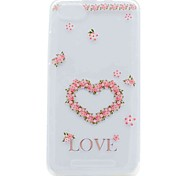 For Wiko Lenny 3 Lenny 2 Case Cover Transparent Pattern Back Cover Case Heart Soft TPU Case