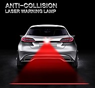1Pcs LED Car Warning Laser Fog Lamp Auto Brake Parking Lamp Rearing Lights External Car Styling Red Color Light