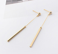 Women's Drop Earrings Euramerican Fashion Simple Style Cooper Line Jewelry For Daily Casual 1 Pair