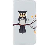 Para iphone 7plus 7 caixa de telefone material de couro PU árvore padrão de águia caixa de telefone pintada 6s mais 6plus 6s 6 se 5s 5