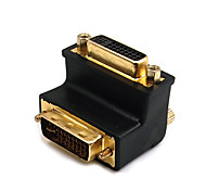DVI Adapter, DVI to DVI Adapter Male - Female 1080P Gold-plated copper 1.0 Gbps
