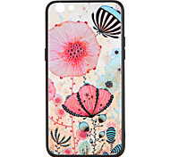 For OPPO R9s  R9s Plus Case Cover Pattern Back Cover Case Flower Butterfly Hard PC R9 R9 Plus