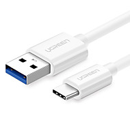 UGREEN Phone USB Cable  USB 3.0 Type C Quick Charge Portable High Speed Cable For Samsung Huawei Sony Xiaomi 200cm ABS