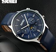 SKMEI  Luxury Fashion Big Dial Designer Quartz Watch Male Wristwatch Relogio Masculino Relojes