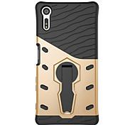 For Sony Xperia X compact Xperia XZ Case Cover 360 Degrees Rotate Armor Combo Drop Armor Phone Case Xperia E5