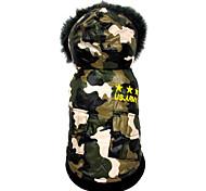 Собака Комбинезоны Одежда для собак На каждый день Американский / США