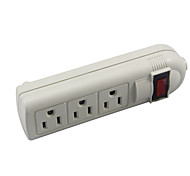 Multi-function Power Socket without line US Plug  3 Outlets