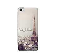 For Xiaomi Mi 5 Case Cover Pattern Back Cover Case Eiffel Tower Soft TPU