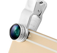 LIEQI LQ-65X Phone Lens 0.65X Wide-Angle Lens Macro Lens Aluminum 10X Cell Phone Camera Lenses Kit for Samsung Android  Smartphones iPhone