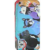 Case for apple iphone 7 plus / 7 обложка обложка задняя крышка чехол собака мультфильм жесткий компьютер iphone 6s plus / 6 plus / 6s / 6
