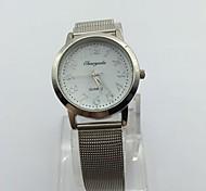 Women's Dress Watch Wrist watch Quartz Metal Band Casual Silver