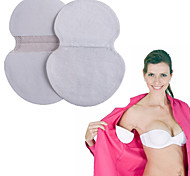 6Pair Deodorant Disposable Underarm Armpits Absorb Anti Sweat Perspiration Underarm Cotton Protection Pad