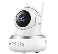 Veskys® 2.0mp 1080p hd wifi охранное видеонаблюдение ip камера облако хранения двухсторонний аудио удаленный монитор