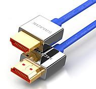 HDMI 2.0 Cavi, HDMI 2.0 to HDMI 2.0 Cavi Maschio/maschio Rame placcato oro 1.5M (5 piedi)