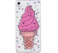 Чехол для sony xperia m2 xa корпус чехол для мороженого узор окрашенный высокий проникающий тп материал imd процесс мягкий чехол телефон
