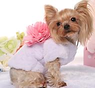 Dog Sweatshirt Dog Clothes Keep Warm Cartoon