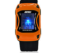 SKMEI® 0961 Watches Car Style LED Cartoon Digital Watch Jelly Silicone 50m Waterproof Swim Sports Wristwatches For Children