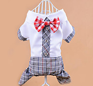 Dog Clothes/Jumpsuit Dog Clothes Casual/Daily Bowknot