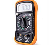 hyelec® MAS830L DC / AC portatile multimetro resistenza tensione corrente di misura tester digitale con retroilluminazione& protezione caso