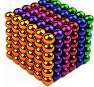 Магнитные игрушки 216 Куски 5 М.М. Избавляет от стресса Магнитные игрушки Исполнительные игрушки головоломка Куб Для получения подарка