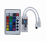 Mini IR 24 Key WiFi LED Controller Smart Phone APP Control with IOS Android (RGB/RGBW/RGBWC)