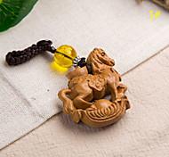 Сумка / телефон / брелок шарм лошадь мультфильм игрушка деревянный китайский стиль