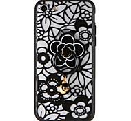 Чехол для Apple iphone 7 плюс 7 крышка с подставкой модель задняя крышка корпус цветок твердый ПК 6 с плюс 6 плюс 6 с 6