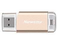 Newsmy i-m06 32g otg usb 3.0 relámpago mfi certificado unidad flash u disco para iphone ipod ipad