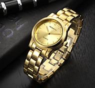 Жен. Модные часы Китайский Кварцевый сплав Группа Серебристый металл Золотистый Розовое золото